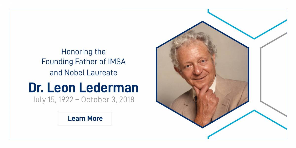 Honoring Dr. Leon Lederman